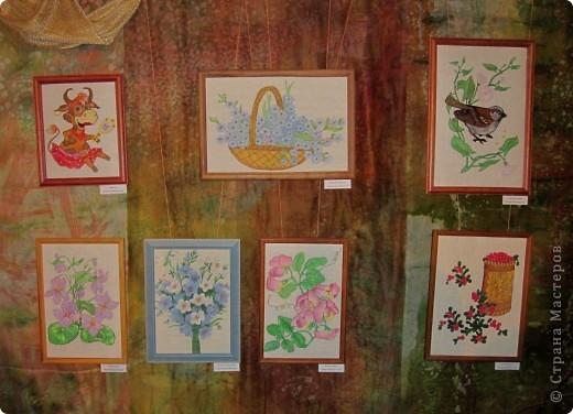 Мои работы на выставке... фото 5