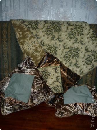 Покрывало и подушки