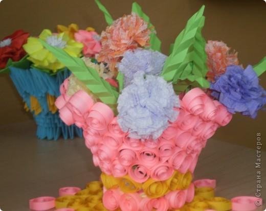 Цветы в корзине фото 2