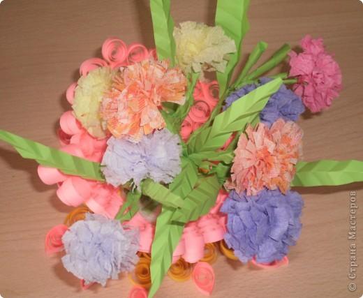 Цветы в корзине фото 1