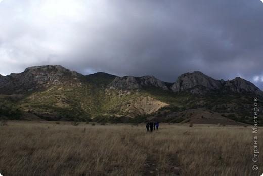 Так начинался наш подъем на Эчкидаг («Козья гора»). фото 12