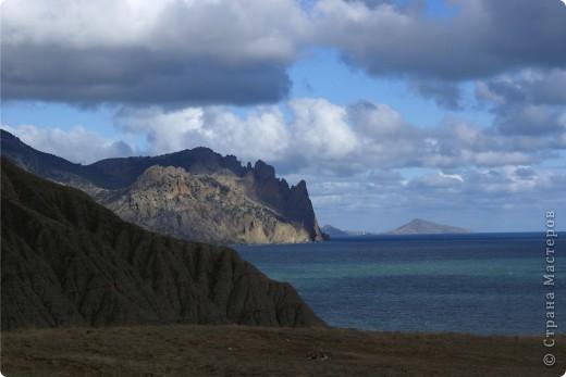 Так начинался наш подъем на Эчкидаг («Козья гора»). фото 15