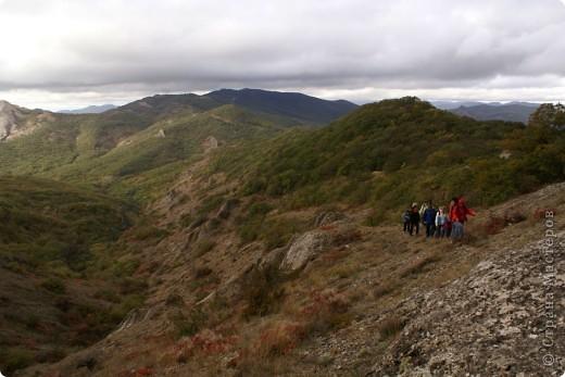 Так начинался наш подъем на Эчкидаг («Козья гора»). фото 1
