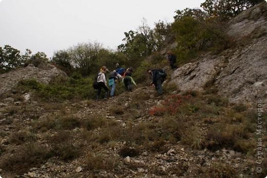 Так начинался наш подъем на Эчкидаг («Козья гора»). фото 2
