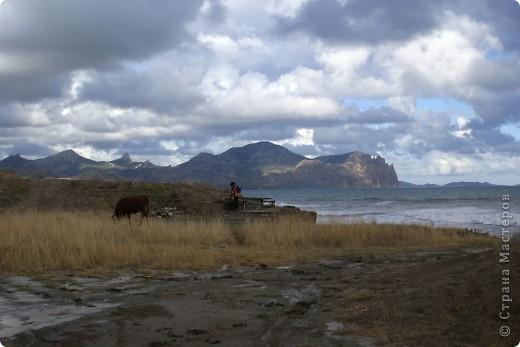 Так начинался наш подъем на Эчкидаг («Козья гора»). фото 27