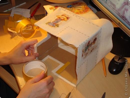 Я в восторге от сундучков из спичечных коробков, но хотелось побольше вместимости и попрактичнее оформление... фото 14