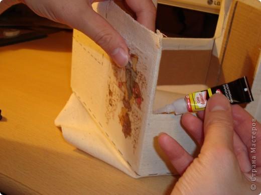 Я в восторге от сундучков из спичечных коробков, но хотелось побольше вместимости и попрактичнее оформление... фото 15
