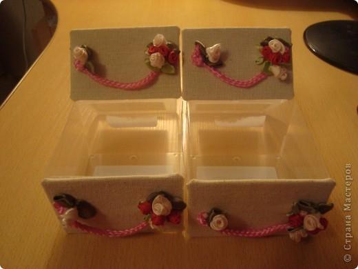 Я в восторге от сундучков из спичечных коробков, но хотелось побольше вместимости и попрактичнее оформление... фото 10