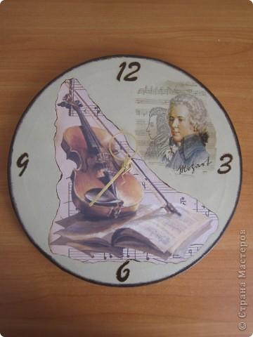 """Часы_""""Моцарт"""""""