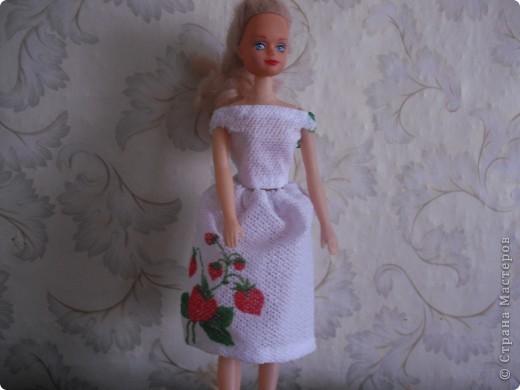 Платье из кусочка гобелена и бывшей шторы фото 2