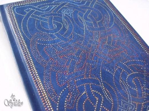 Ежедневник с кельтскими орнаментами фото 4