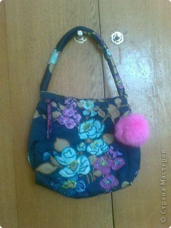 Эту сумочку я сшила себе еще на первом курсе института. Форма простая. фото 1