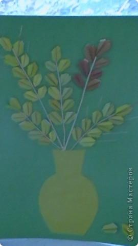 по учебнику-тетради Н.М.Конышевой Технология 1 класс мы делали зёрнышки на перемене - по желанию, а потом собрали в колоски.