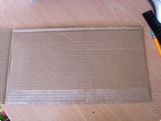 """Предлагаю всем научится делать такие открытки-туннели с помощью коробочного картона! Это моя первая работа, надеюсь, Вам тоже понравится делать такие открытки! Делать их очень легко и просто, особенно понравится работа """"неподготовленным"""", так как используемые материалы есть дома в любом случае!  фото 2"""