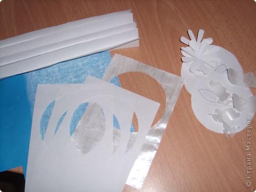 """Предлагаю всем научится делать такие открытки-туннели с помощью коробочного картона! Это моя первая работа, надеюсь, Вам тоже понравится делать такие открытки! Делать их очень легко и просто, особенно понравится работа """"неподготовленным"""", так как используемые материалы есть дома в любом случае!  фото 8"""