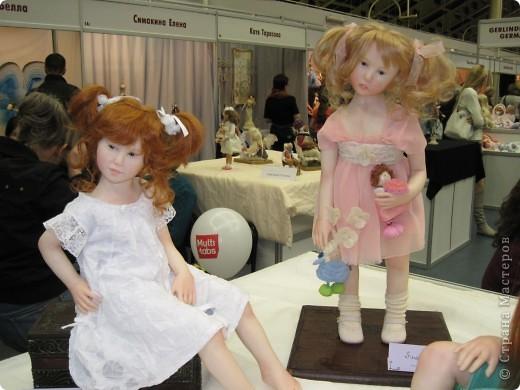 Возьму на себя смелость продолжить репортаж о Шестом международном Салоне кукол в Москве.  фото 2