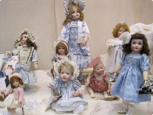 Возьму на себя смелость продолжить репортаж о Шестом международном Салоне кукол в Москве.  фото 3