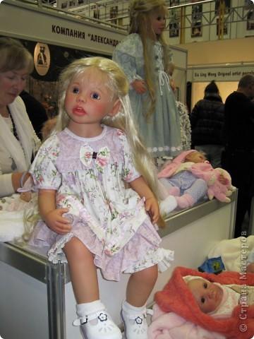 В Москве начал свою работу Шестой международный Салон кукол. Спешу поделиться с Вами красотой. фото 7