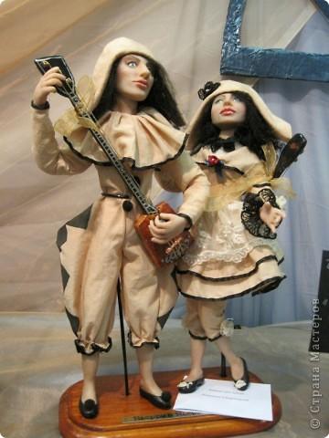 Возьму на себя смелость продолжить репортаж о Шестом международном Салоне кукол в Москве.  фото 4
