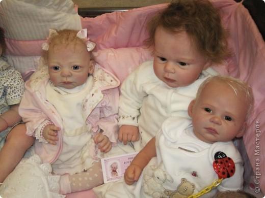 В Москве начал свою работу Шестой международный Салон кукол. Спешу поделиться с Вами красотой. фото 15