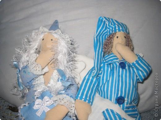 Пару сонных ангелов сшила для своих младших девочек. Как же приятно шить для детей!    Давайте познакомимся6 фото 4