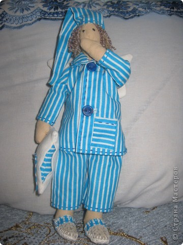 Пару сонных ангелов сшила для своих младших девочек. Как же приятно шить для детей!    Давайте познакомимся6 фото 2
