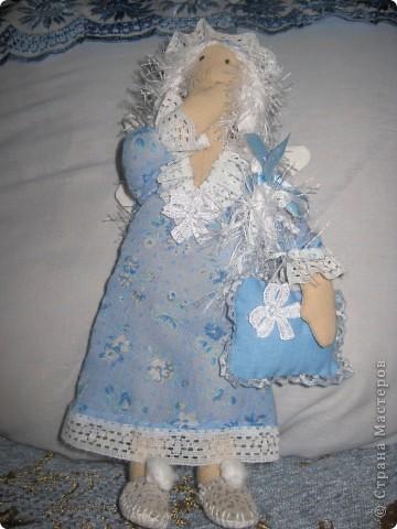 Пару сонных ангелов сшила для своих младших девочек. Как же приятно шить для детей!    Давайте познакомимся6 фото 3