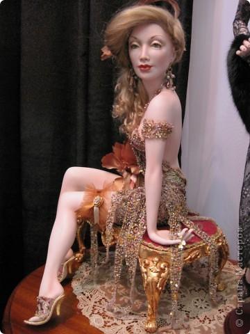 Возьму на себя смелость продолжить репортаж о Шестом международном Салоне кукол в Москве.  фото 6