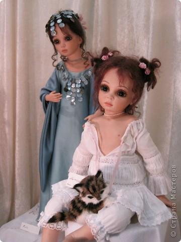 Возьму на себя смелость продолжить репортаж о Шестом международном Салоне кукол в Москве.  фото 9