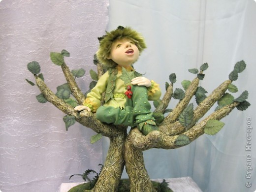 Возьму на себя смелость продолжить репортаж о Шестом международном Салоне кукол в Москве.  фото 10