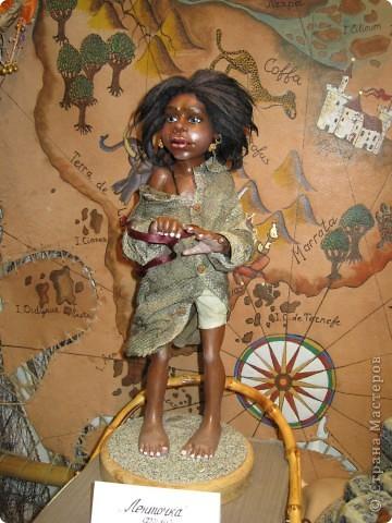 Возьму на себя смелость продолжить репортаж о Шестом международном Салоне кукол в Москве.  фото 11