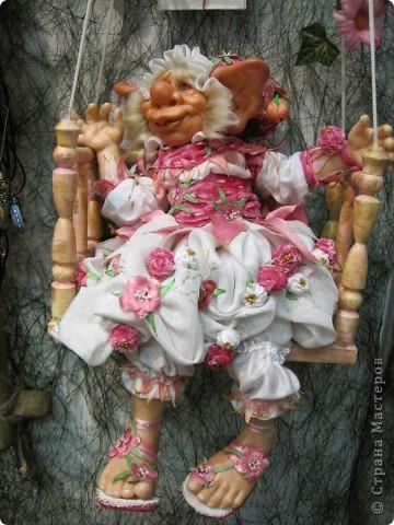 Возьму на себя смелость продолжить репортаж о Шестом международном Салоне кукол в Москве.  фото 12