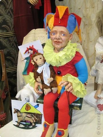 Возьму на себя смелость продолжить репортаж о Шестом международном Салоне кукол в Москве.  фото 18