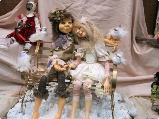 Возьму на себя смелость продолжить репортаж о Шестом международном Салоне кукол в Москве.  фото 24