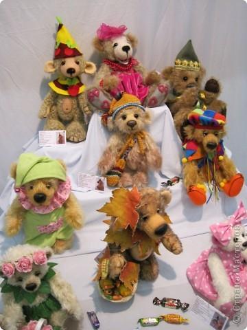 Возьму на себя смелость продолжить репортаж о Шестом международном Салоне кукол в Москве.  фото 26