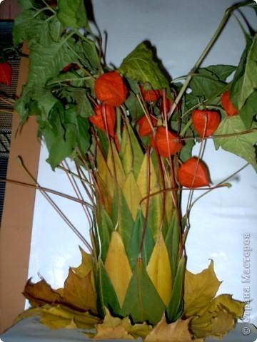 Осенняя ваза фото 3