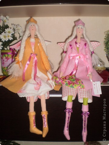 Осенний ангел Саша. Рост 65 см. Волосы у куклы настоящие от дочери Саши.  (наверно был сбой и фото потерялись. загрузила еще раз) фото 4