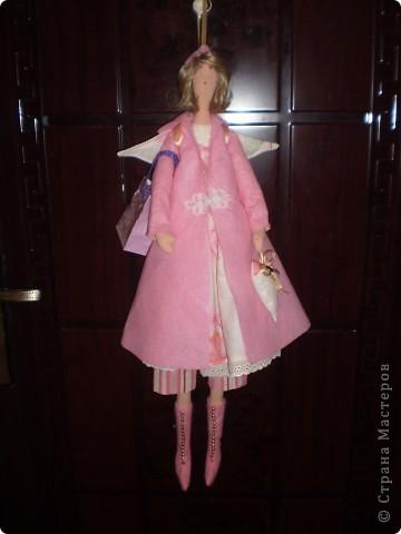 Осенний ангел Саша. Рост 65 см. Волосы у куклы настоящие от дочери Саши.  (наверно был сбой и фото потерялись. загрузила еще раз) фото 5