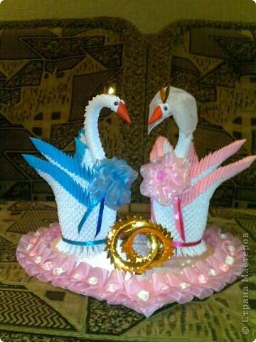 Лебеди брату на свадьбу.