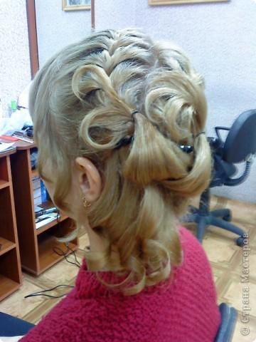 Так можно оформить три дракона на среднюю длину волос... фото 2