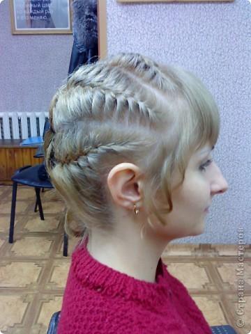 Так можно оформить три дракона на среднюю длину волос... фото 3