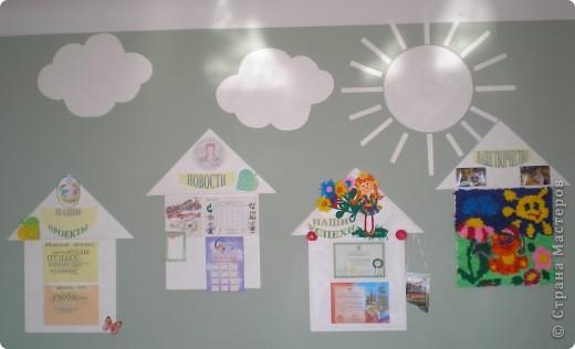 После летнего ремонта в классе сделали вот такой школьный уголок. фото 2