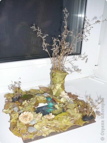 Поделка из природных материалов в школу для старшей дочери. фото 1