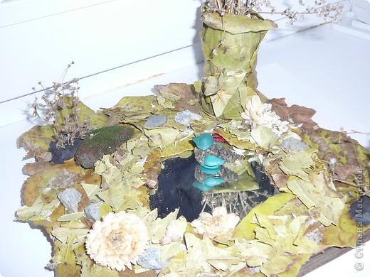 Поделка из природных материалов в школу для старшей дочери. фото 2