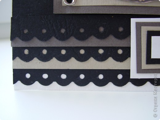 На этой неделе у меня был урожай открыток :). Начнем по порядку: кофейная открытка с тиснением. фото 3