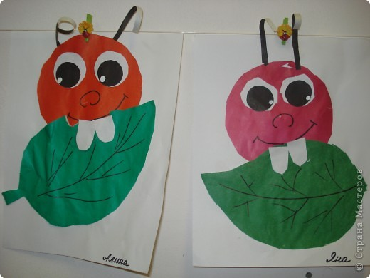 А это наши обжорки. Делали 4-х летние дети. Спасибо за идею Лесе Титаренко. фото 1