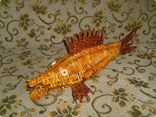 Увидела на сайте таких рыб и тоже захотелось сделать.  фото 2