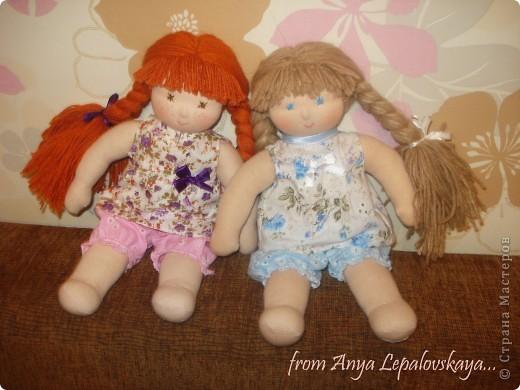 Женечка и Наташа - вальдорфские сестрички фото 3