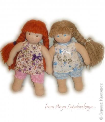 Женечка и Наташа - вальдорфские сестрички фото 1