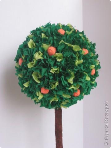 Моё первое деревце, навеянное работами мастериц Страны фото 2